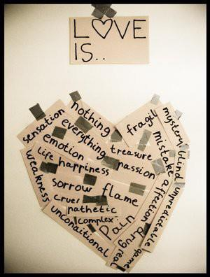 Love is…   – A