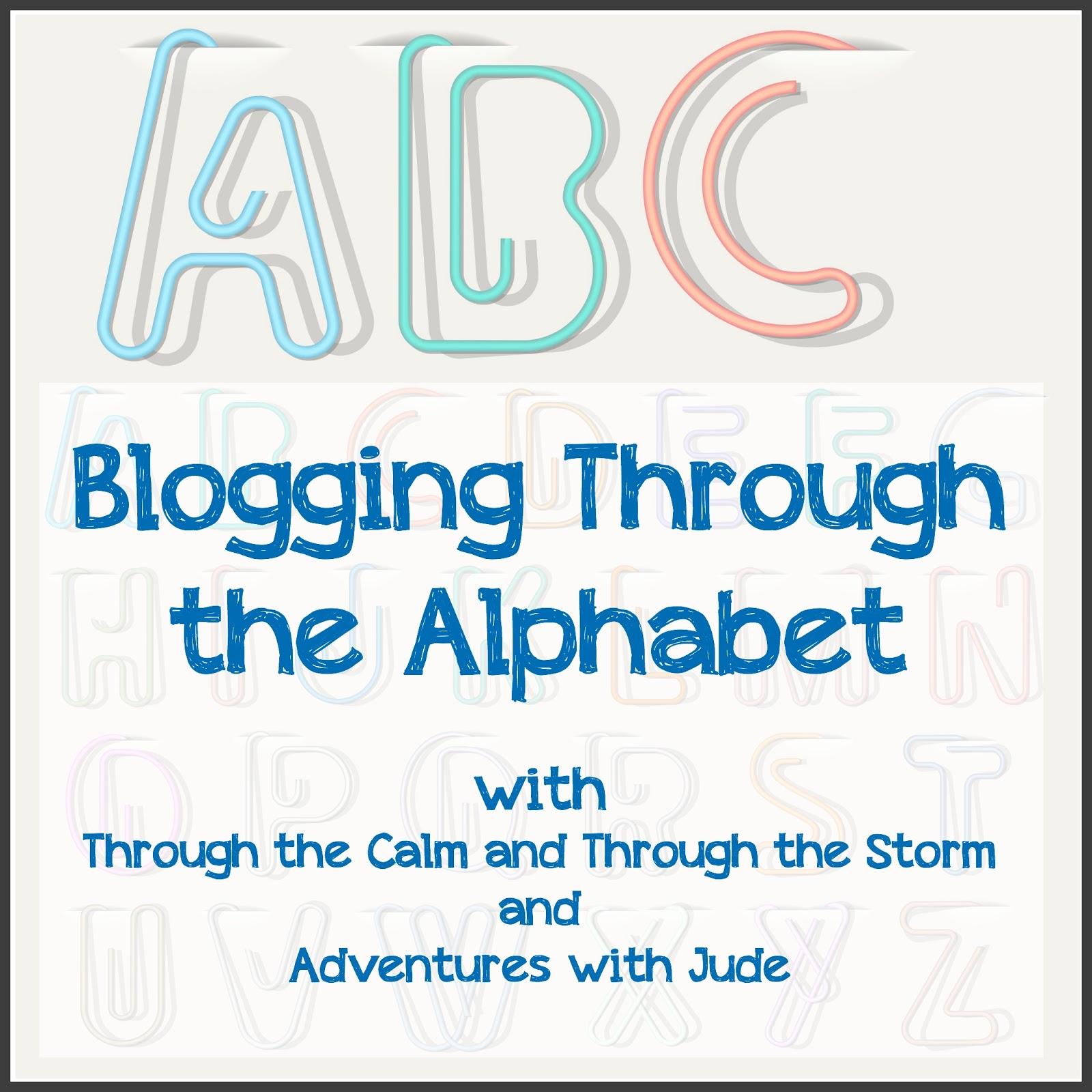 Blogging Through the Alphabet — Week 21 Letter U – A